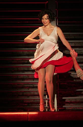 G-Janet Dacal with Jeremiah Ginn in Goodspeeds Bye Bye Birdie. (c)Diane Sobolewski