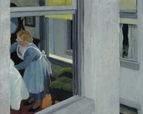 "Hopper, ""Apartment Houses,"" 1924, Pennsylvania Academy of the Fine Arts"
