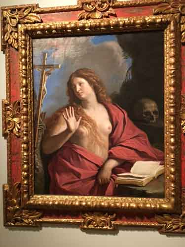 "Guercino, ""The Penitent Magdalene,"" est. $500,000-700,000 Photo by Lee Rosenbaum"