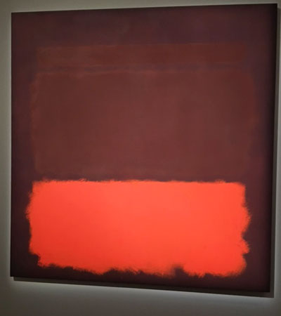 "Rothkio, ""No. 6/Sienna, Orange on Wine,"" 1962 Presale estimate: $20-30 million"