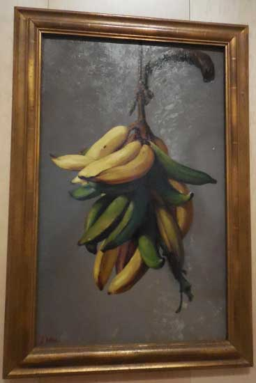 "Oller, ""Yellow Plantains,"" c. 1892-93, El Museo del Barrio, New York Photo by Lee Rosenbaum"