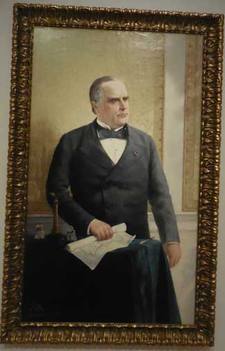 "Oller, ""President William McKinley,"" 1898, Collection of Dr. and Mrs. Eduardo Pérez Photo by Lee Rosenbaum"