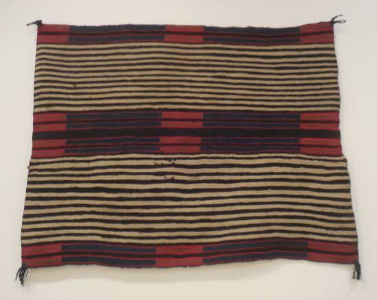 """""""Second Phase Chief's Blanket,"""" 1865-80"""