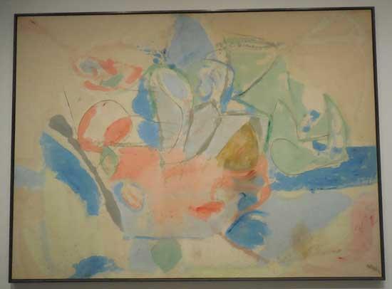 "Helen Frankenthaler, ""Mountains and Sea,"" 1952, CKCKCK"