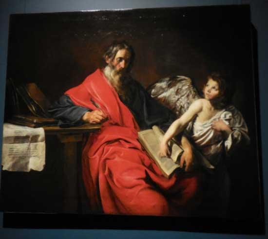 """Saint Matthew,"" ca. 1624-26, Chateau d Versailles"