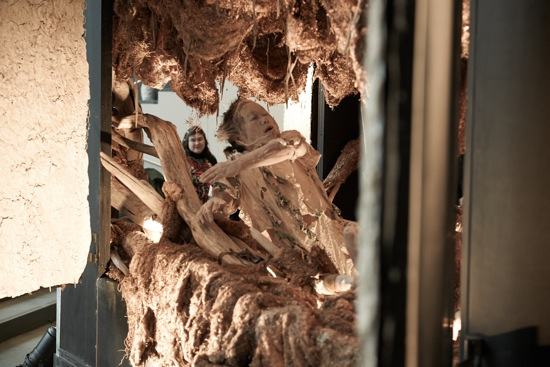 Koma of Eiko and Koma in The Caravan Project at the Museum of Modern Art. Photo: Anna Lee Campbell