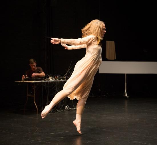 Jennifer Monson in her Live Dancing Archive. Photo: Yi-Chun Wu