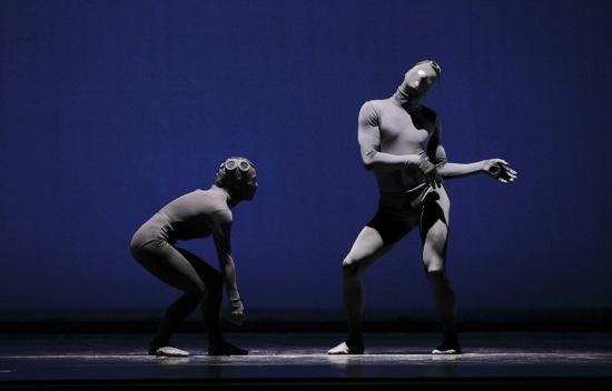 Eran Bugge and James Samson. Photo: Paul B. Goode