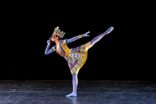 Maya Oguri in James Waring's Eccentric Beauty. Photo: Darial Sneed