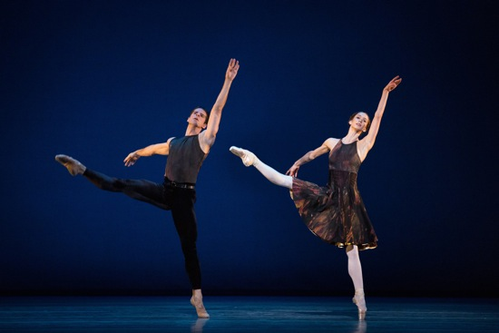 Marcelo Gomes and Polina Semionova in Alexei Ratmansky's Symphony #9. Photo: Marty Sohl