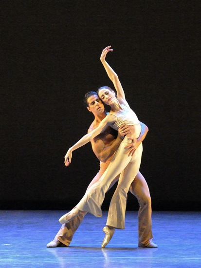 Marcelo Gomes and Julie Kent in Stanton Welch's Clear. Photo: Gene Schiavone