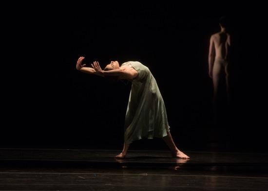 Kristina Bentz in Pina Bausch's Wind von West. Photo: Rosalie O'Connor