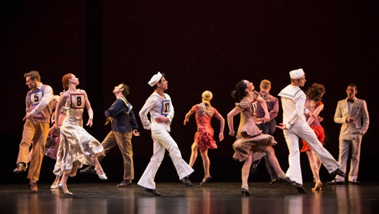 Marathon Cadenzas (L to R): Michael Novak, Heather McGinley, Robert Kleinendorst, Francisco Graciano, Jamie Rae Walker, Christina Lynch Markham, Michael Trusnovec, James Samson, Laura Halzack, Sean Mahoney. Photo: Yi-Chun Wu