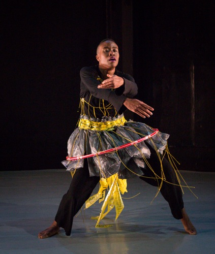 Omagbitse Omagbemi in Barbara Kilpatrick's costume. Photo: Yi-Cun Wu