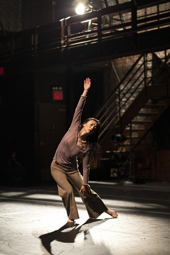 Miki Orihara in Adam Barruch's Memory Current. Photo: Juan Vargas/Ellen Jacobs Associates
