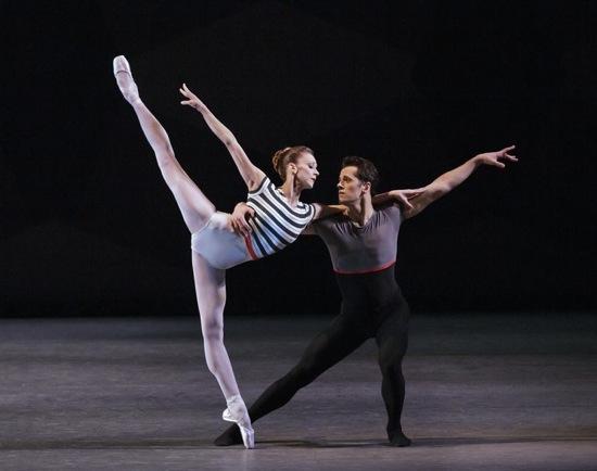 Maria Kowroski and Robert Fairchild in Everywhere We Go. Photo: Paul Kolnik