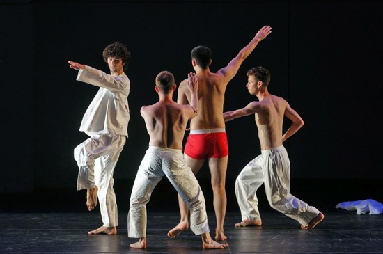 (L to R): Olsi Gjeci, Neal Beasley, Nicholas Strafaccia, and Stuart Shugg. Photo: Cory Weaver