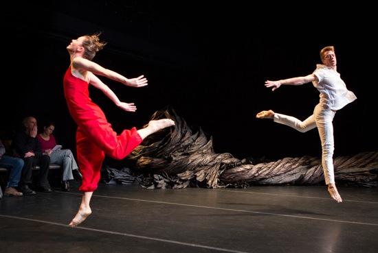 Katie Workum and Luke Miller in Oxbow. Photo: Yi-Chun Wu