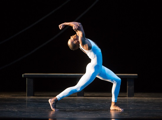 Kirven Douthit-Boyd opens the December 5 performance of Dove's Bad Blood. Photo: Yi-Chun Wu