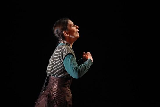 Meredith Monk in her On Behalf of Nature. Photo: Julieta Cervantes