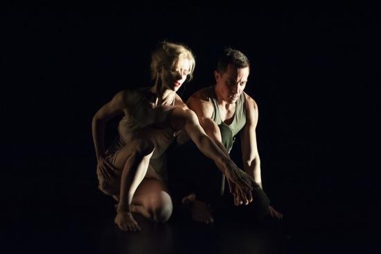 Leslie Kraus and Douglas Gillespie in Bright Land. Photo: Keira Heu-Jwyn Chang