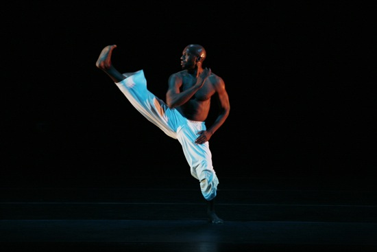 Ronald K. Brown in his Grace. Photo: Julieta Cervantes