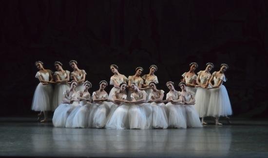 American Ballet Theatre tableau in Mikhail Fokine's Les Sylphides. Photo: Gene Schiavone
