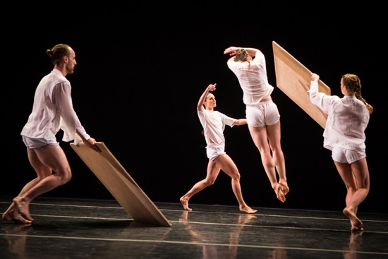Brian Brooks's Division. (L to R): Matthew Albert, Haylee Nichele, Carlye Eckert, and Ingrid Kapteyn. Photo: Yi-Chun Wu
