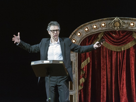 Ira Glass in Three Acts, Two Dancers, and a Radio Host. Photo: Nancy Palmieri