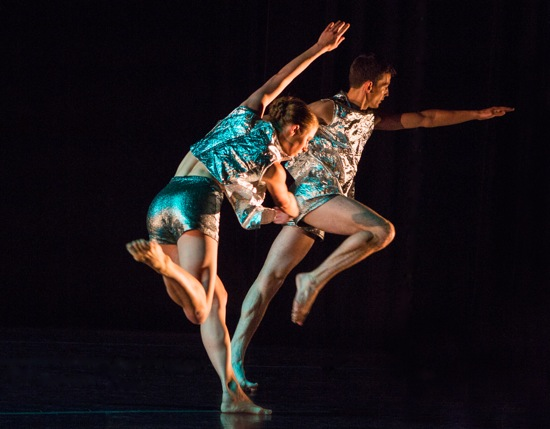 Ingrid Kapteyn and Dylan Crossman in Brian Brooks' Sudden Lift. Photo: Yi-Chun Wu