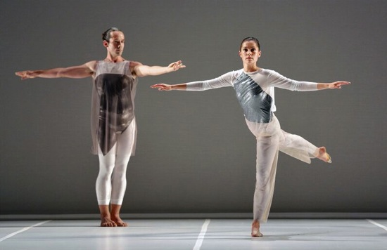Stuart Singer and Melissa Toogood in Broken Story (wherein there is no ecstasy. Photo: Cory Weaver
