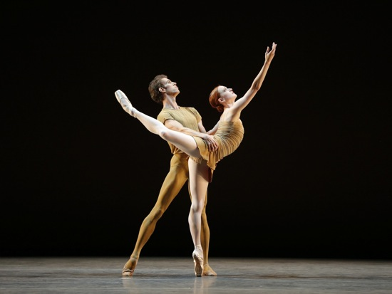 James Whiteside and Gillian Murphy in Twyla Tharp's The Brahms-Haydn Variations. Photo: Marty Sohl