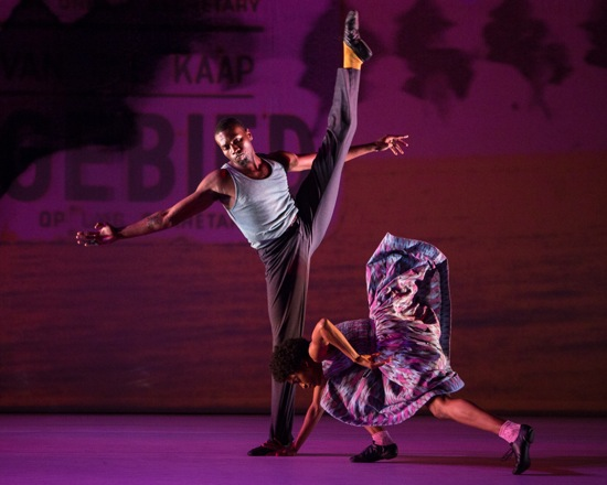 Vinson Fraley Jr. and Tamisha Guy in Kyle Abraham's The Gettin'. Photo: Yi-Chun Wu