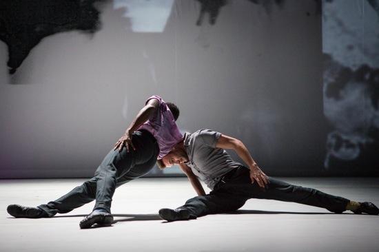 "Jeremy ""Jae"" Neal (L) and Matthew Baker in The Gettin'. Photo: Yi-Chun Wu"