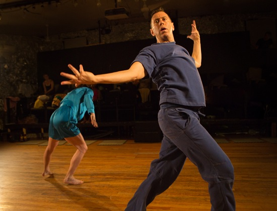 Neil Greenberg and (at back) Molly Lieber in This d'Occasion. Photo: Yi-Chun Wu