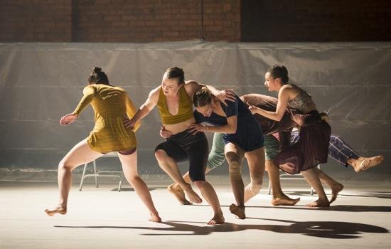 Andrea Miller's Whale. (L to R): Gwyneth Mackenzie, Allysen Hooks, Celine D'hont, Georgia Usborne, Matthew Perez (half hidden), Daniel Staaf. Photo: Yi-Chun Wu