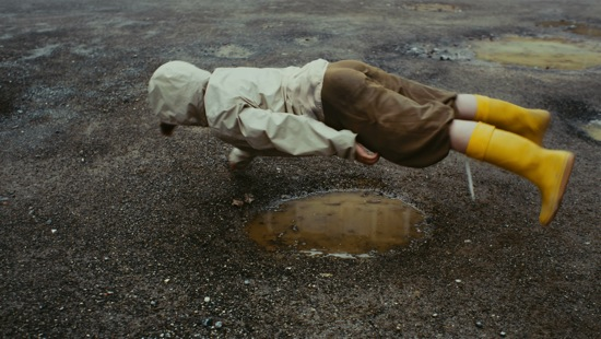 Homei Toyoka in Sebastian Gimmel's Approaching the Puddle.