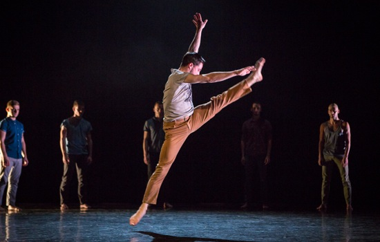 Marc Galvez in Alexander Whitley's The Murmuring. Photo: Yi-Chun Wu
