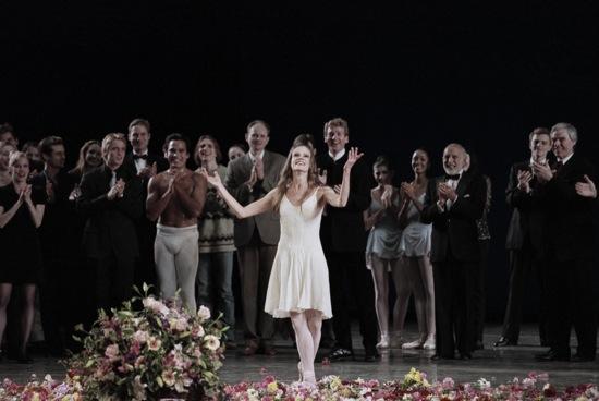 Merrill Ashley's Farewell Performance at New York City Ballet Photo: Paul Kolnik