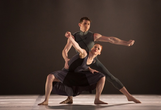Heather McGinley and Sean Mahoney in Larry Keigwin's Rush Hour. Photo: Yi-Chun Wu