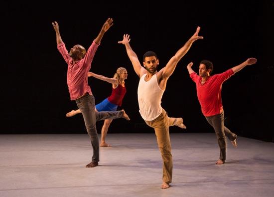 L to R: Paul Hamilton, Petra van Noort, Javier Perez, and Darrin Wright. Photo: Yu-Chu Wu
