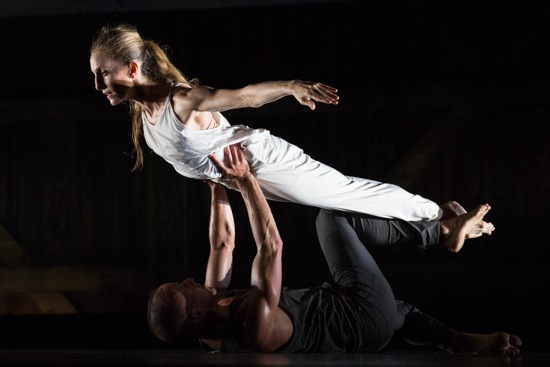 Brian Brooks and Wendy Whelan in Brooks's Some of a Thousand Words. Photo: Hayim Heron
