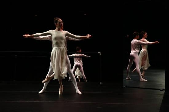 Carling Talcott-Streenstra and Barton Cowperthwaite in triplicate. Photo: Paula Court