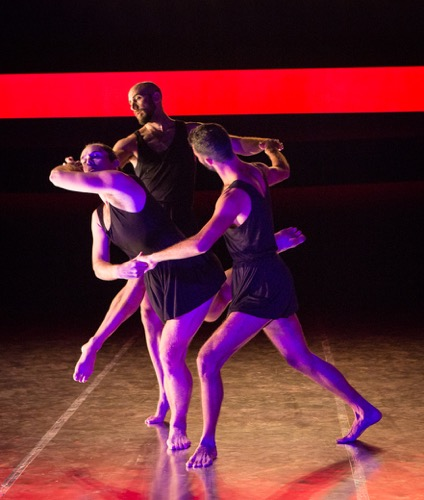 Three Graces (L to R): Stuart Singer, Burr Johnson, and Marc Crousillat. Photo: Yi-Chun Wu