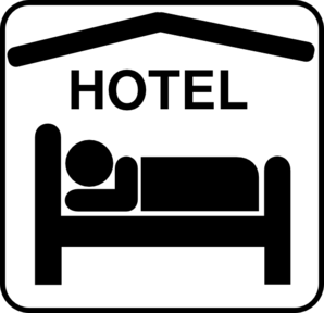 hotel-clipart-hotel-sleeping-accomodation-clip-art-black-white-md