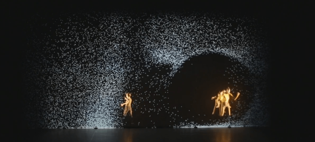 Pixel Interactive Projected Effects for Performance Projection Mapping Central