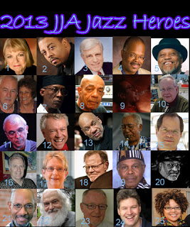 Jazz Heroes, designated in 2013 by the Jazz Journalists Association and 25 local North American communities