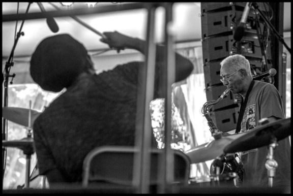 hamid drake kidd jordan chicago jazz fest 13