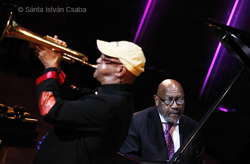 Jimmy Owens and Kenny Barron playing a piece by the late Frank Wess at the 2014 NEA Jazz Masters ceremony