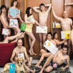 Booksellers in France Get Naked to Protest Attempted Censorship of 'Everybody Get Naked!'